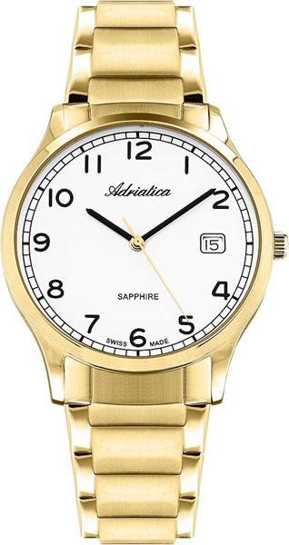 Мужские часы Adriatica A1278.1123Q Мужские часы Roamer 934.950.48.25.05