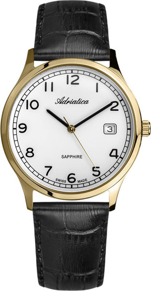 цена Мужские часы Adriatica A1267.1223Q онлайн в 2017 году