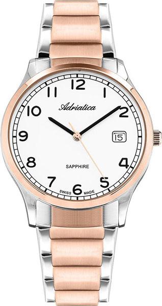 Фото - Мужские часы Adriatica A1267.R123Q бензиновая виброплита калибр бвп 13 5500в