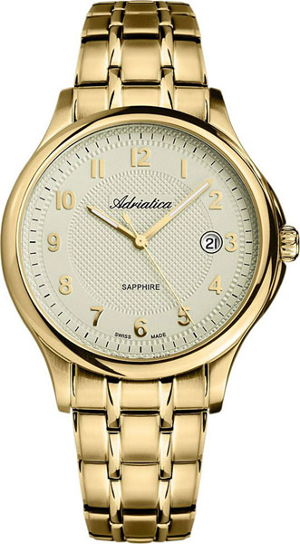 Мужские часы Adriatica A1272.1121Q мужские часы adriatica a1108 y224qf