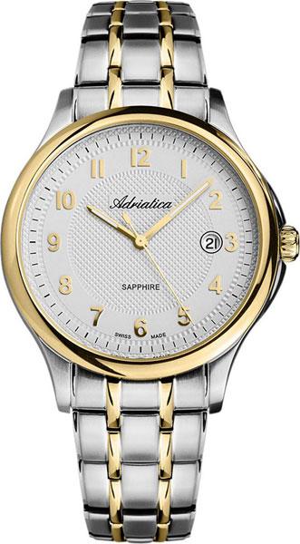 цена Мужские часы Adriatica A1272.2123Q онлайн в 2017 году