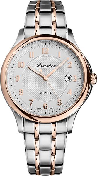 где купить Мужские часы Adriatica A1272.R123Q по лучшей цене