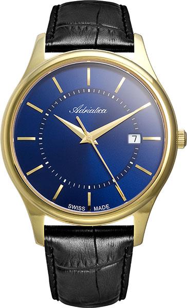 цена Мужские часы Adriatica A1279.1215Q онлайн в 2017 году