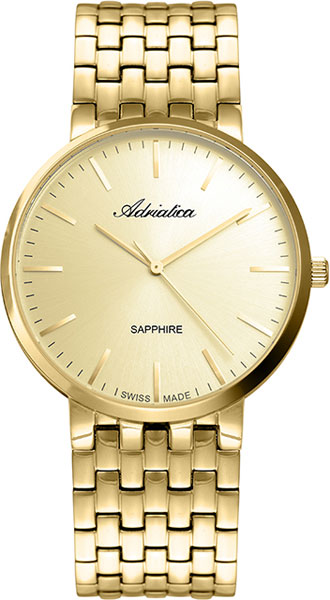 Фото - Мужские часы Adriatica A1281.1111Q мужские часы adriatica a1284 5163q