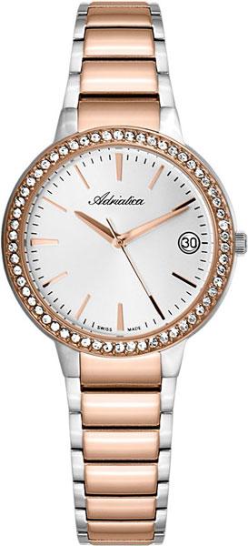 Женские часы Adriatica A3415.R113QZ adriatica a3415 1111qz