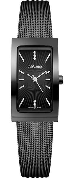 Женские часы Adriatica A3707.B114Q золотой браслет с часов марка модной platinum часов реального позолоченные 21 см уникальный раунда цепи