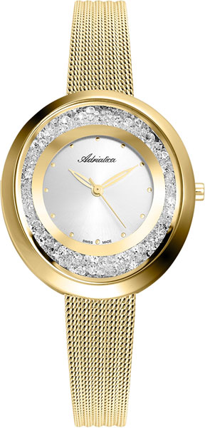 Женские часы Adriatica A3771.1143QZ женские часы adriatica a3464 1113q