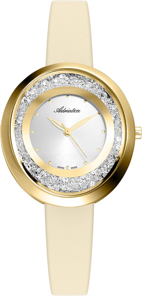 Женские часы Adriatica A3771.1243QZ женские часы adriatica a3464 1113q