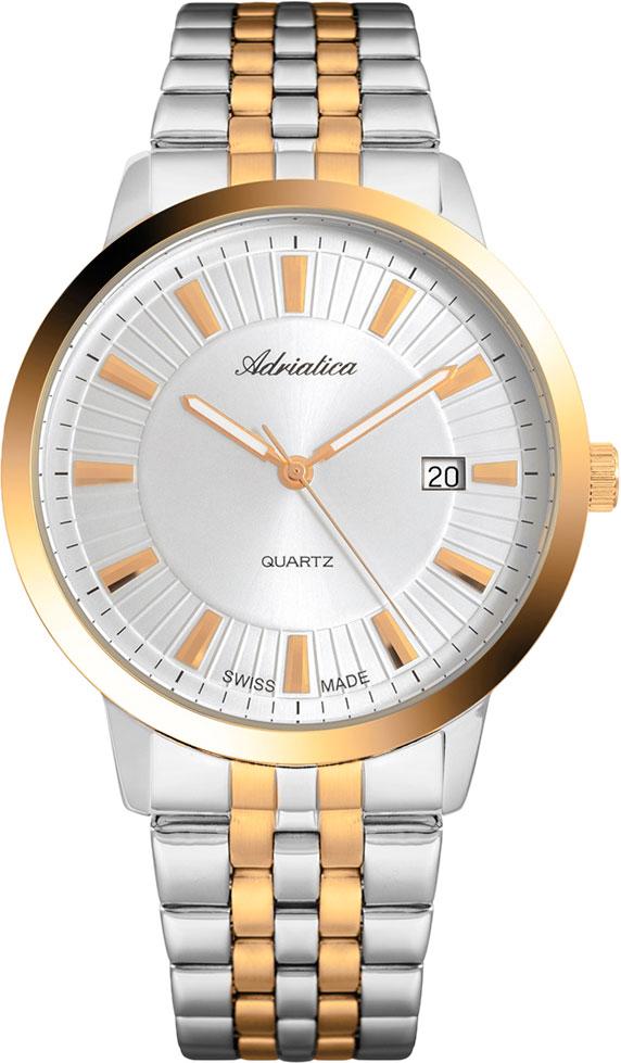 Швейцарские мужские часы в коллекции Premiere Мужские часы Adriatica A8164.2113Q фото