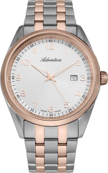 Мужские часы Adriatica A8204.R123Q женские часы adriatica a3168 r123q