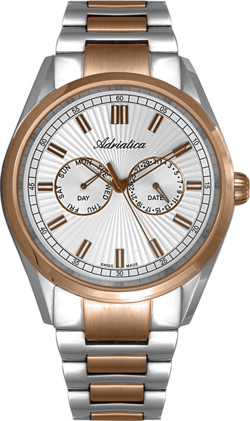 Мужские часы Adriatica A8211.R113QF 150mm tr8 8 acme leadscrew threaded nema17 stepper