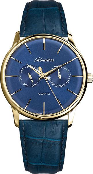Фото - Мужские часы Adriatica A8243.1215QF бензиновая виброплита калибр бвп 13 5500в