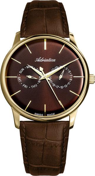 лучшая цена Мужские часы Adriatica A8243.121GQF