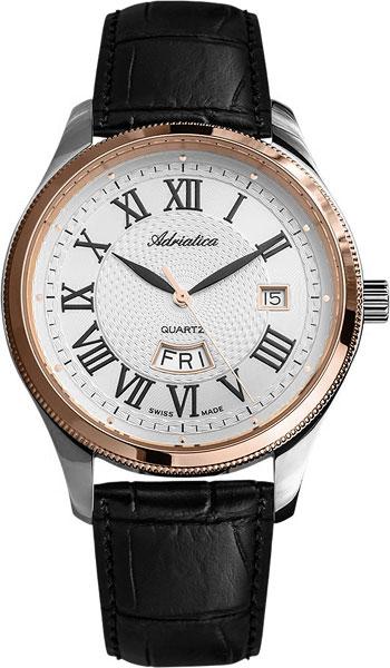 где купить Мужские часы Adriatica A8244.R233Q по лучшей цене