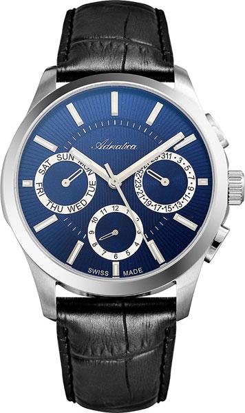 Швейцарские мужские часы в коллекции Portofino Мужские часы Adriatica A8255.5215QF фото
