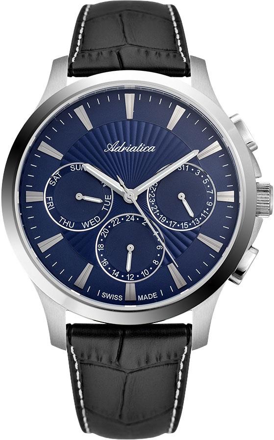 Швейцарские мужские часы в коллекции Portofino Мужские часы Adriatica A8270.5215QF