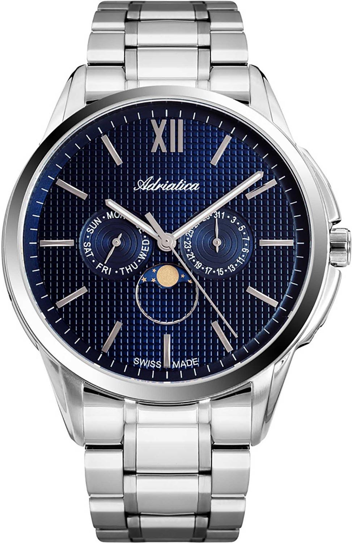 Мужские часы Adriatica A8283.5165QF мужские часы adriatica a1246 5213q