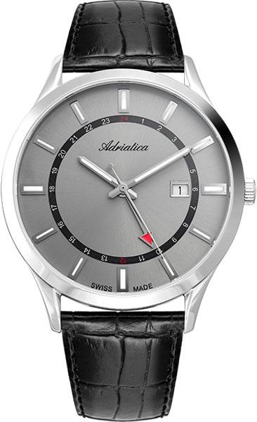 Фото - Мужские часы Adriatica A8289.5217Q бензиновая виброплита калибр бвп 13 5500в