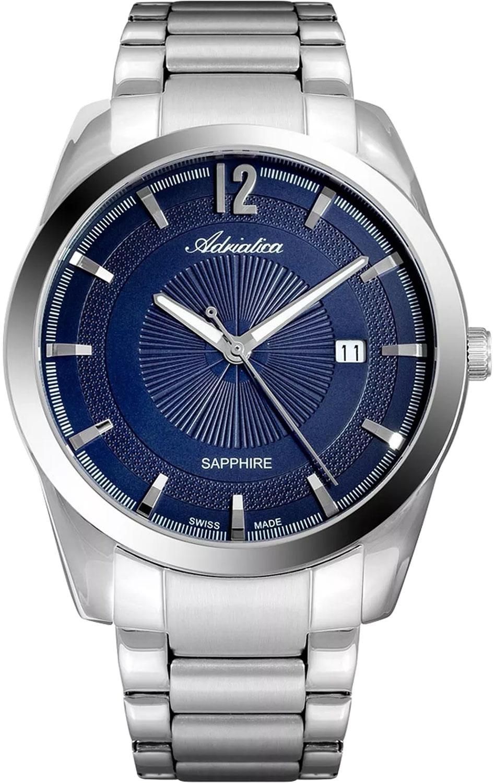 Фото - Мужские часы Adriatica A8301.5155Q мужские часы adriatica a1284 5163q