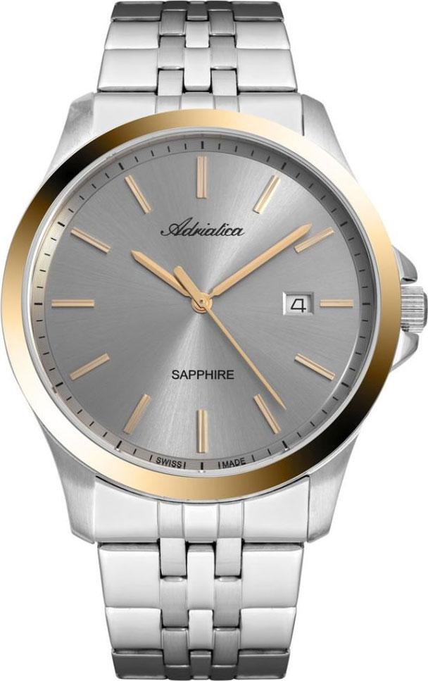 Швейцарские мужские часы в коллекции Premiere Мужские часы Adriatica A8303.2117Q фото