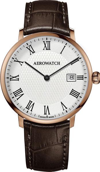 Мужские часы Aerowatch 21976RO07 цена и фото
