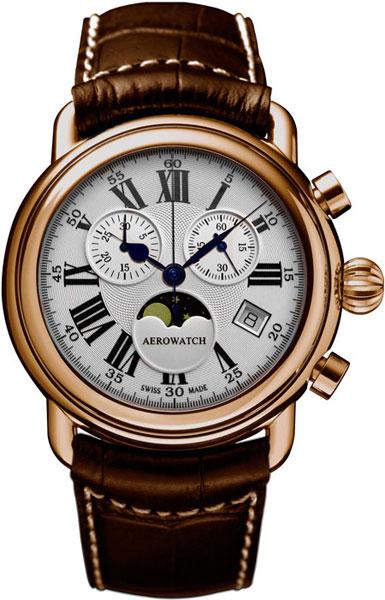 Мужские часы Aerowatch 84934RO01 часы aerowatch