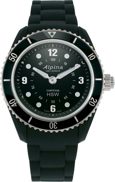 Женские часы Alpina AL-281BS3V6 alpina al 525n4e6
