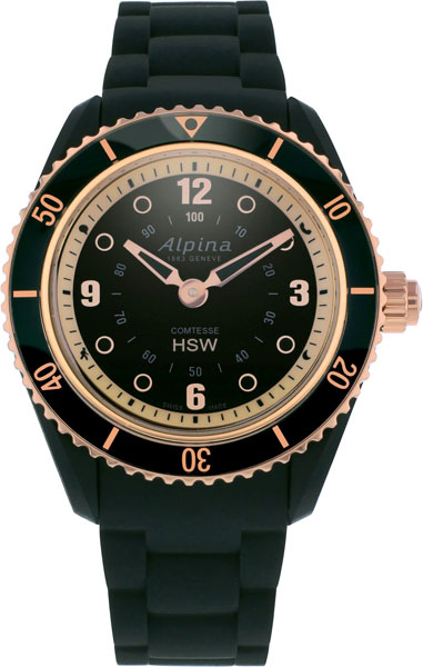 Женские часы Alpina AL-281BY3V4 alpina al 525n4e6