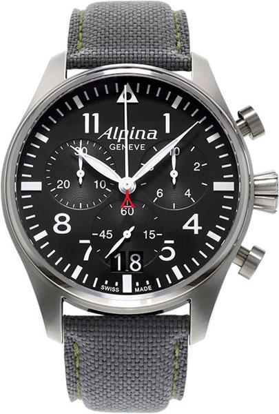 Мужские часы Alpina AL-372B4S6 alpina al 525n4e6