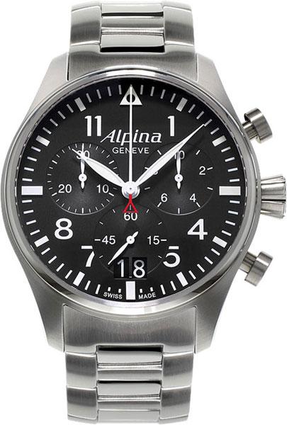 Мужские часы Alpina AL-372B4S6B alpina al 525n4e6