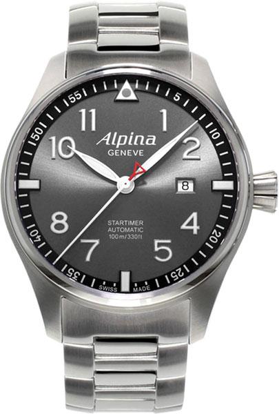 Мужские часы Alpina AL-525GB4S6B мужские часы alpina al 280n4s6