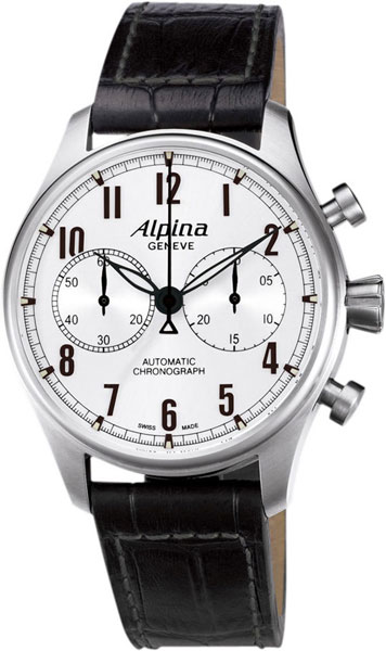 Мужские часы Alpina AL-860SC4S6 alpina al 525n4e6