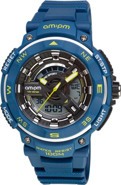 Мужские часы AM:PM PC164-G397