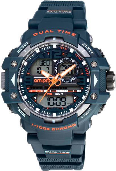 Мужские часы AM:PM PC165-G401
