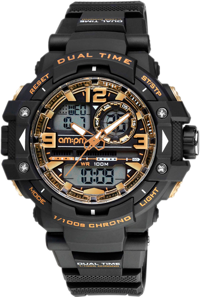 Мужские часы AM:PM PC165-G402 am pm крючок am pm awe a1535600 двойной