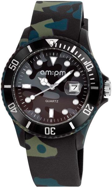 Мужские часы AM:PM PM139-G295 цена