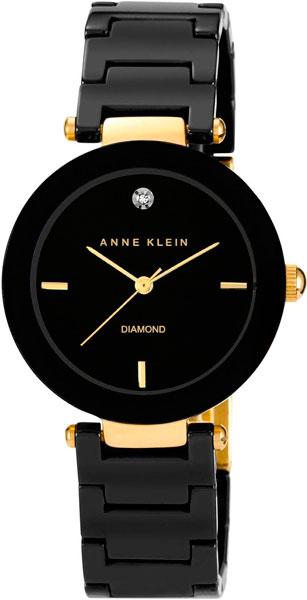 Женские часы Anne Klein 1018BKBK anne klein часы anne klein 1018bkbk коллекция diamond
