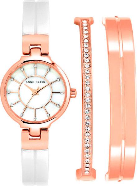 Женские часы Anne Klein 2048RGST дизайн панков турецкий браслеты для глаз для мужчин женщины новая мода браслет женский сова кожаный браслет камень