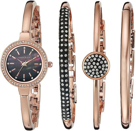 Женские часы Anne Klein 2240RGST anne klein 1442 bkgb