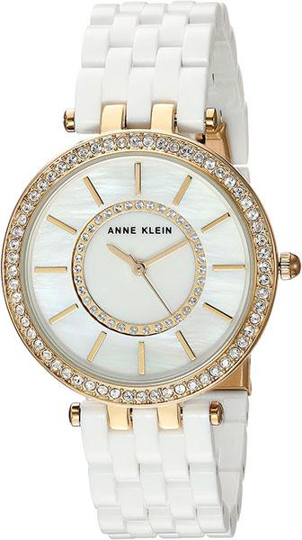Женские часы Anne Klein 2620WTGB