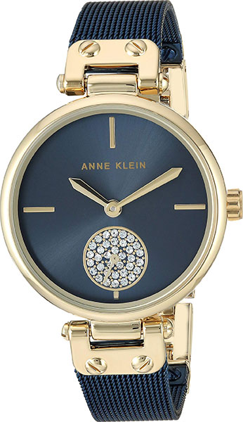 Женские часы Anne Klein 3001GPBL