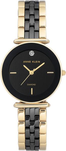 Женские часы Anne Klein 3158BKGB
