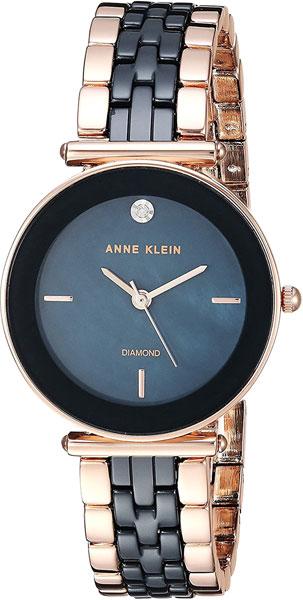 Женские часы Anne Klein 3158NVRG anne klein 1442 bkgb