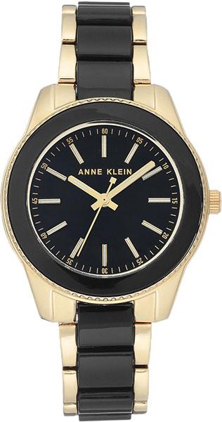 Женские часы Anne Klein 3214BKGB