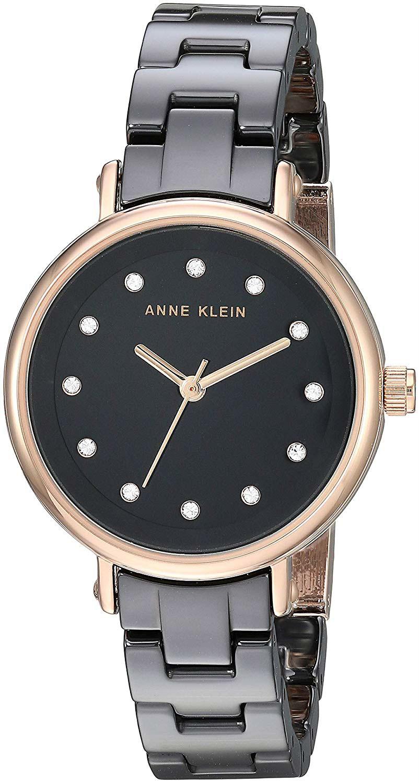 Женские часы Anne Klein 3312BKRG