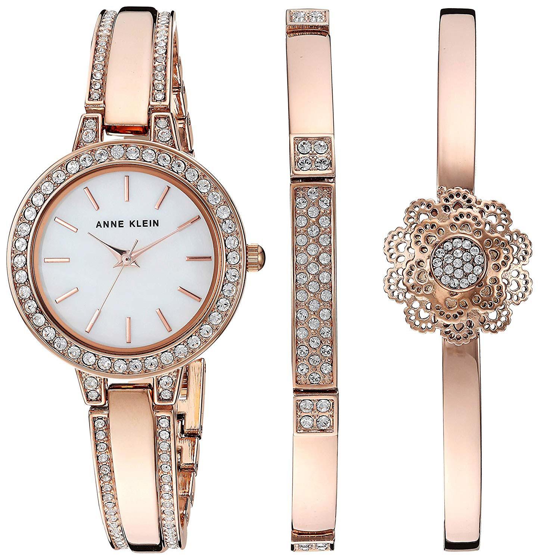 Женские часы Anne Klein 3354RGST