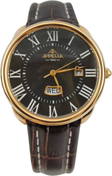 Мужские часы Appella AP.4369.04.0.1.04 appella 4369 3011 appella