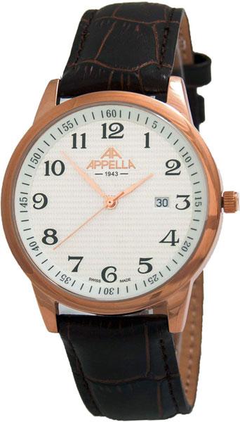 Мужские часы Appella 4371-4011 appella часы appella 4371 3014 коллекция classic