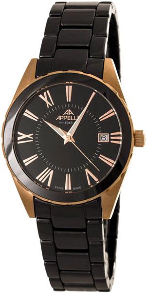 Мужские часы Appella 4377-8004 appella часы appella 4377 10004 коллекция ceramic
