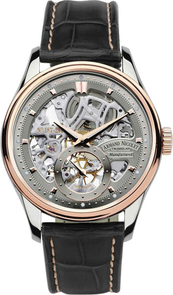 Мужские часы Armand Nicolet 8620S-GL-P713GR2
